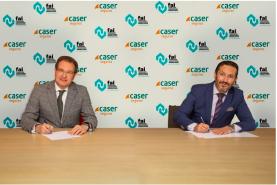 firma del acuerdo entre Caser y la FAI