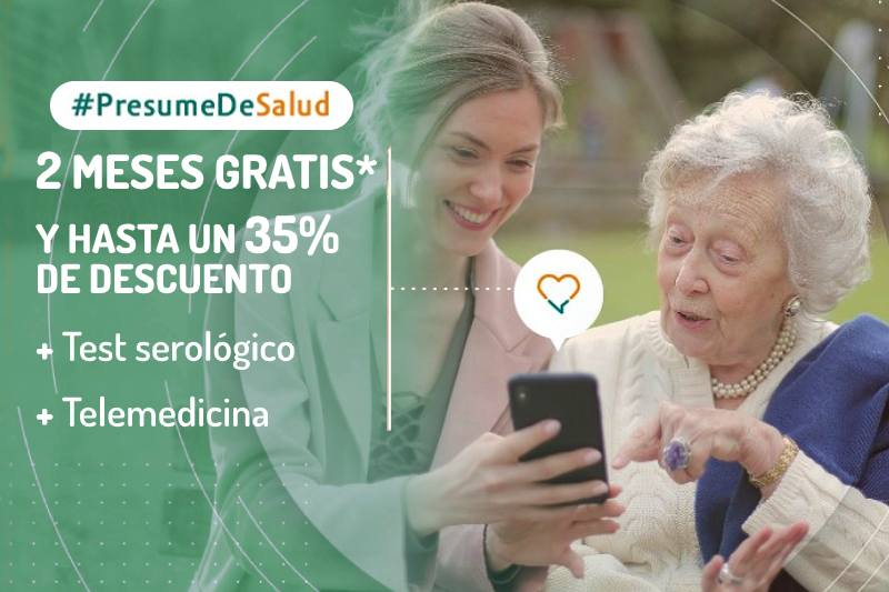 Mini campaña Caser Salud Otoño 2020