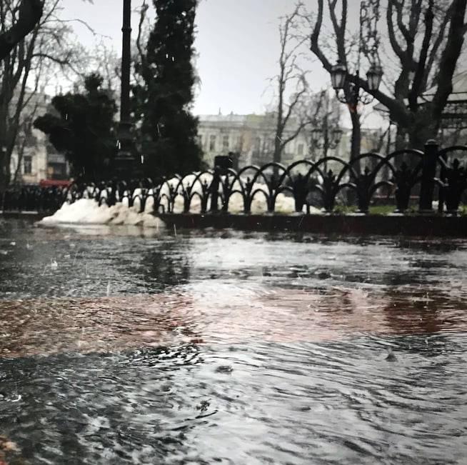 Lluvia Catástrofe
